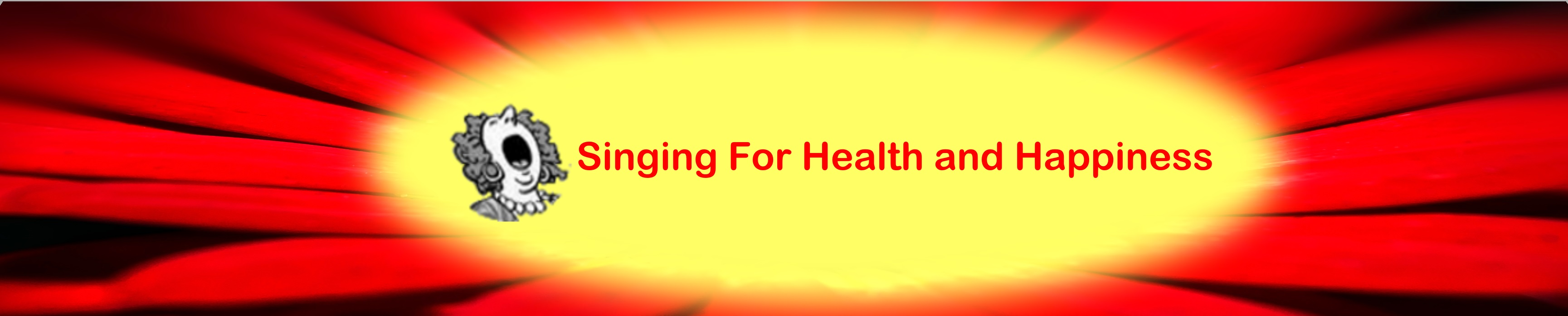 singing for health & happiness